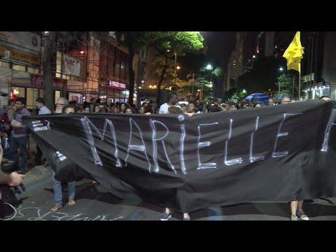 Ato em memória de Marielle