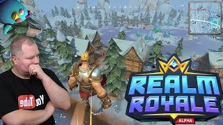 New/Mega competitor for Fortnite?! Realm Royale and my first KilL