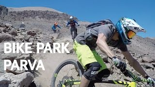 Bike Park La Parva - Road gap sin manos, neumaticos deformados, fondazos y porrazos multip ...