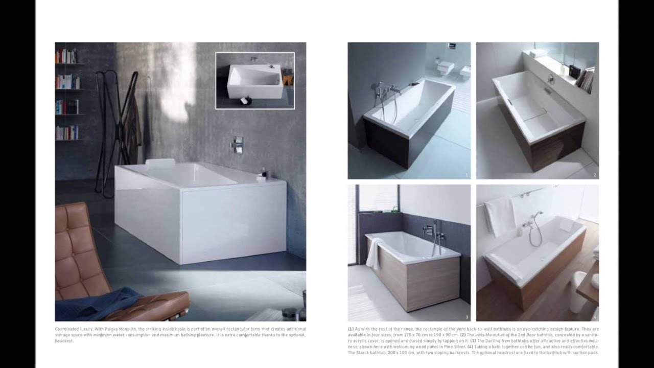 bathtub duravit cover architonic by shelves tub from product h en