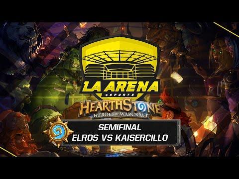 Elros vs Kaisercillo | Semifinal Tavern Hero 2 | La Arena eSports Madrid