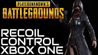 PUBG HOW TO CONTROL RECOIL XBOX ONE (Best Sensitivity)