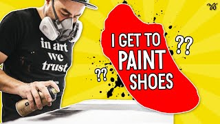Painting (Prepping) SHOES