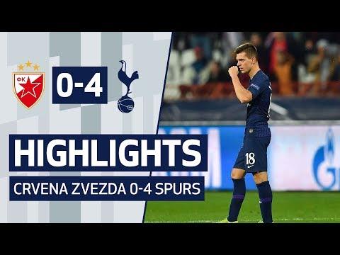 Fk Crvena Zvezda Vs Tottenham Hotspur Highlights