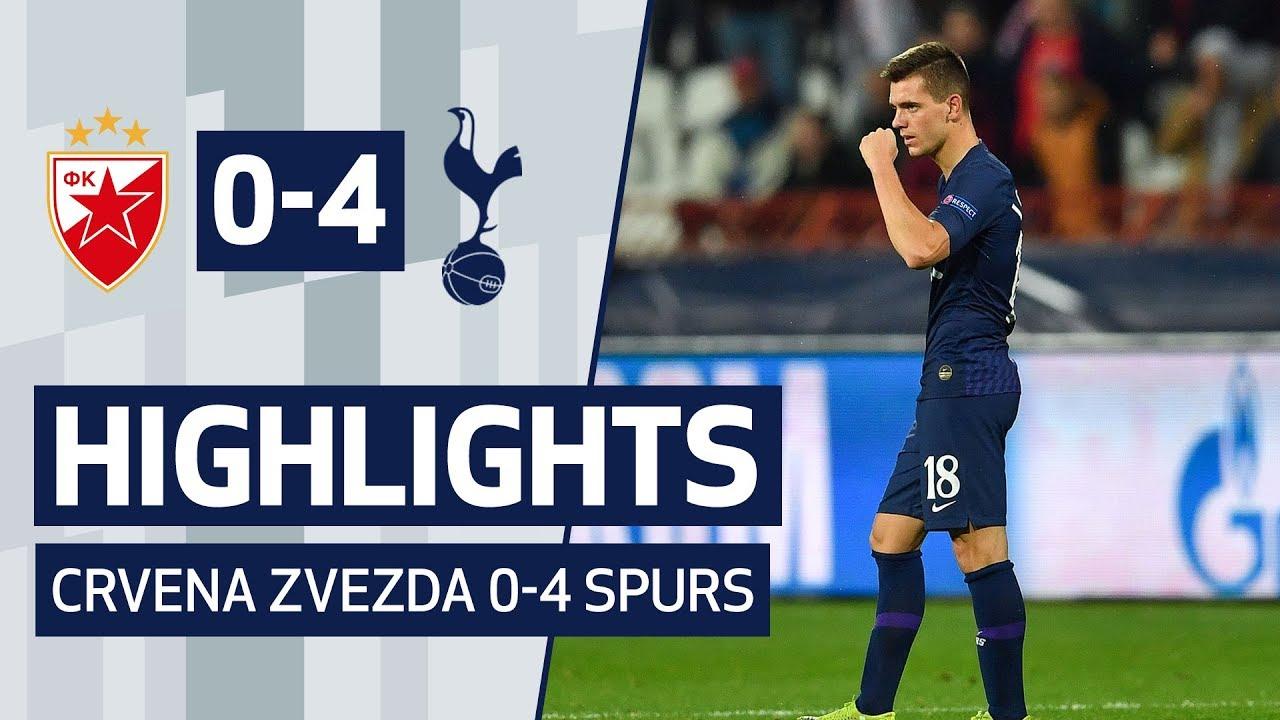 GIOVANI LO CELSO'S FIRST SPURS GOAL | HIGHLIGHTS | Crvena Zvezda 0-4 Spurs