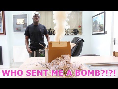 WHO SENT ME A BOMB?!?!