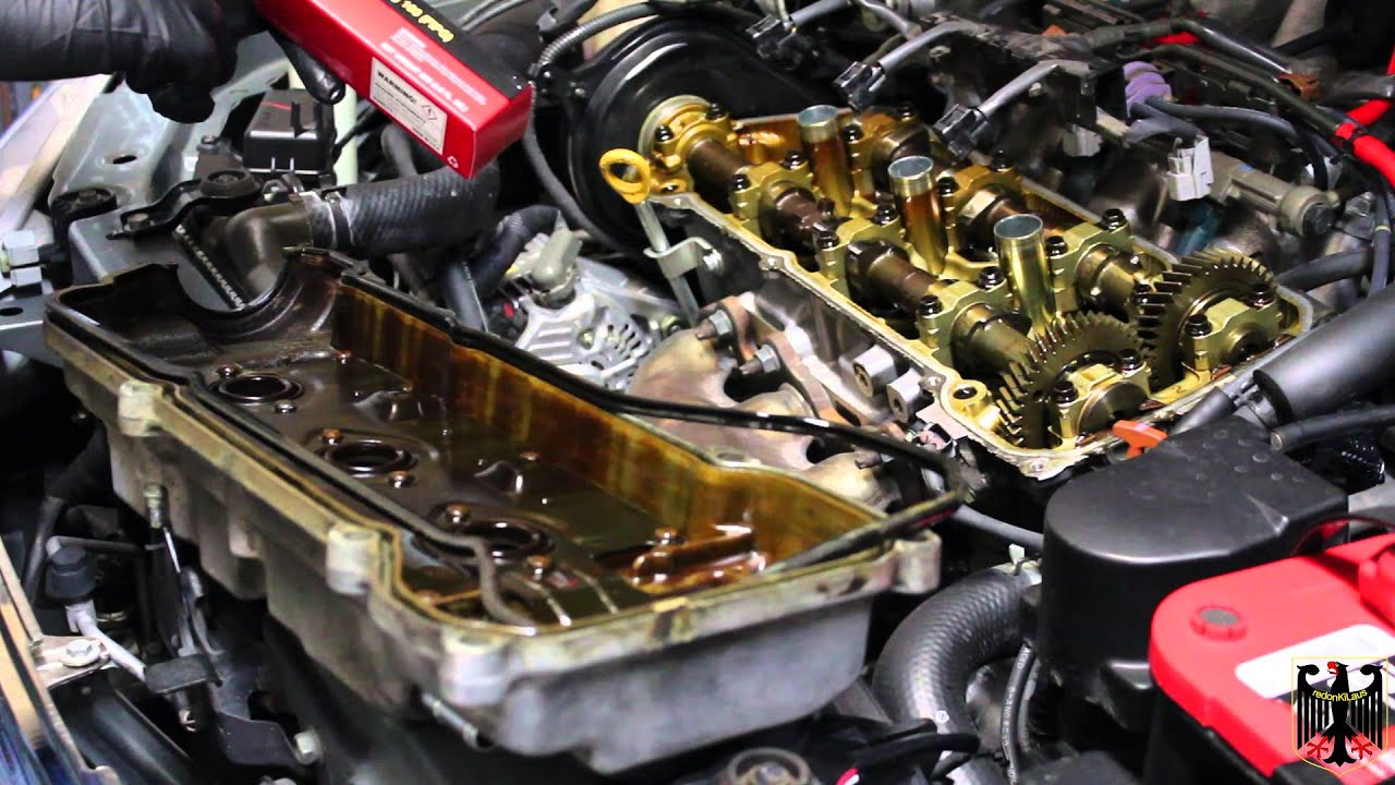 2001 Toyota Camry Solara Front Valve Cover Gasket Replacement Youtube