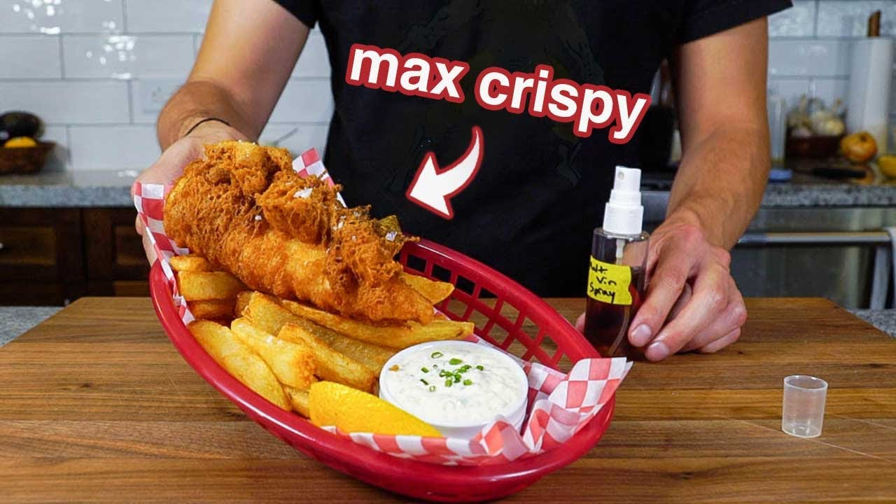 Download why is this the BEST FISH & CHIPS recipe on earth?
