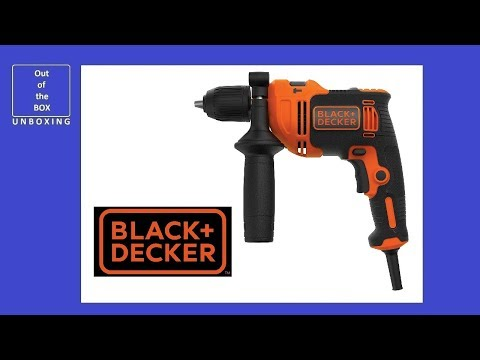BLACK+DECKER BEH710K-QS Taladro Percutor con cable 710W UNBOXING