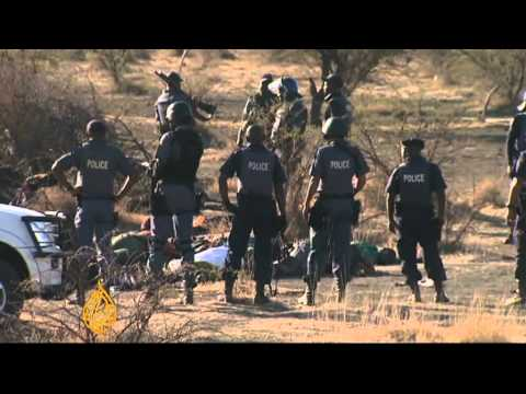South Africa rights group launches probe in shootings of miners