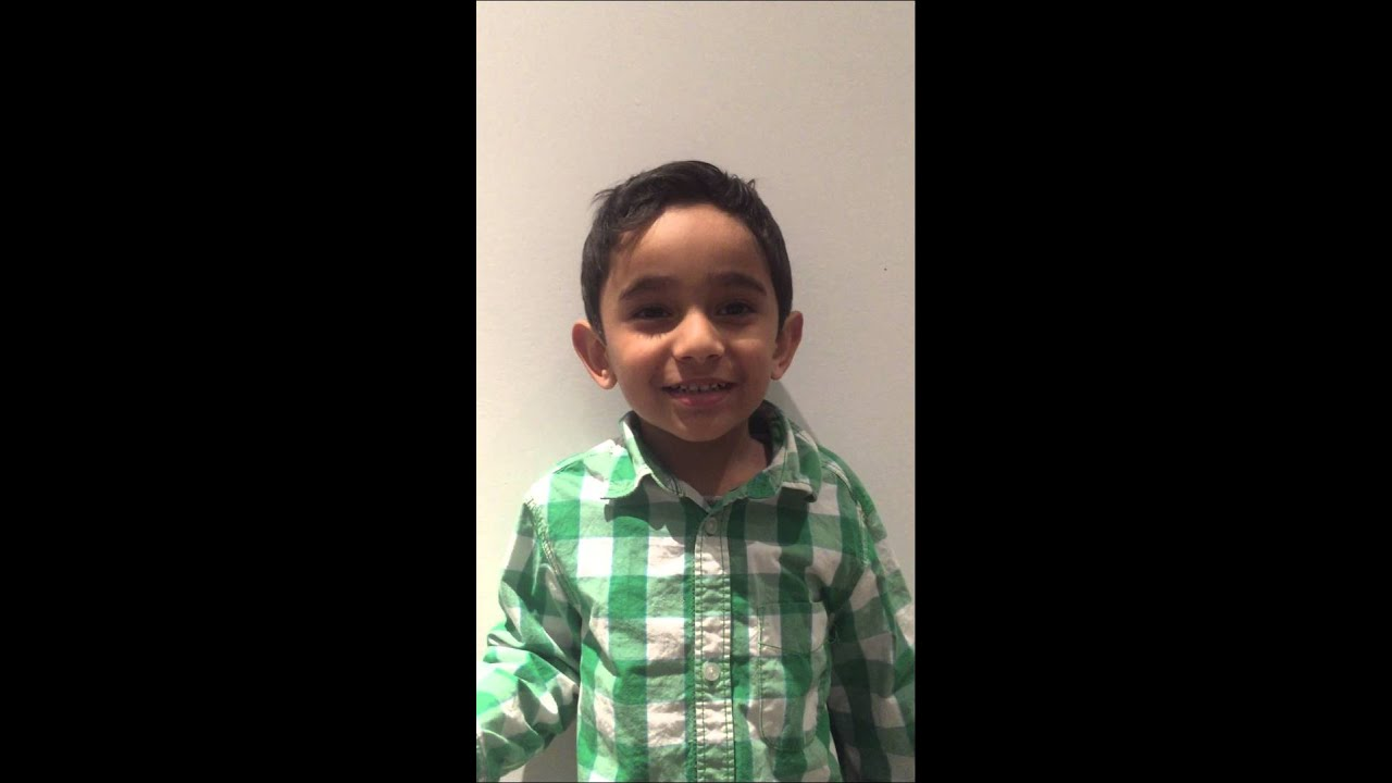 Thanking Friends Family For Happy Birthday Wishes By A 4 Year Old Boy