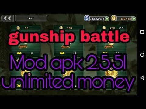 gunship-battle-latest-mod-apk-2.5.51(unlimited-money)