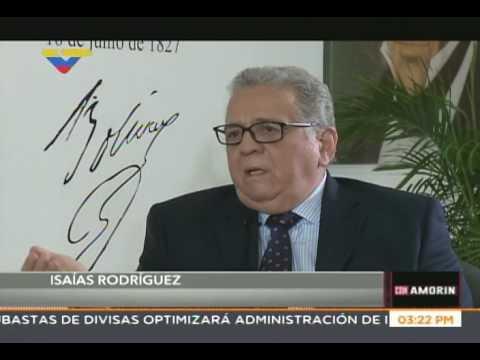 Isaías Rodríguez: Tengo el temor de que Luisa Ortega cayó en redes de fiscales antirrevolucionarios