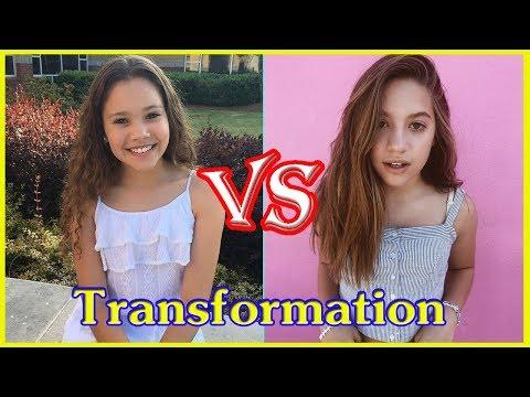 Sierra Haschak vs Mackenzie Ziegler transformation from 1 to 14 years old