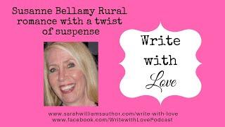 Susanne Bellamy Rural Romance with a twist of Suspense