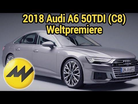 2018 Audi A6 50TDI (C8) Weltpremiere: Design, Interior, Infotainmentsystem, Motoren - Was ist neu?