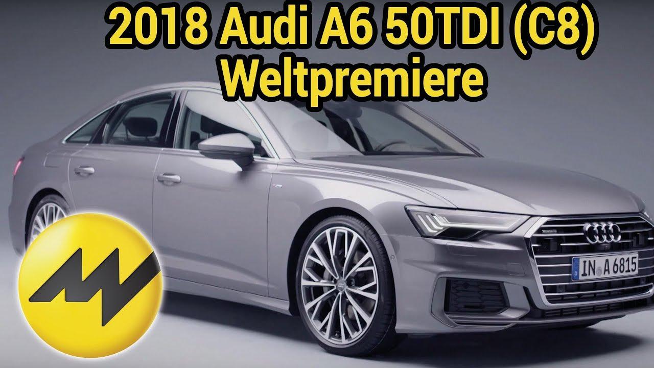 2018 Audi A6 50tdi C8 Weltpremiere Design Interior