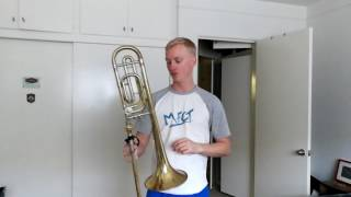 Tenor Trombone Low Range!
