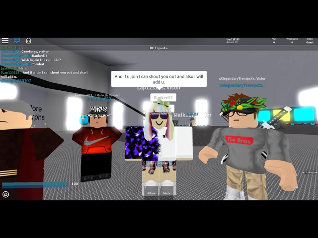 TGR recruitment video! Come join a elite group!!
