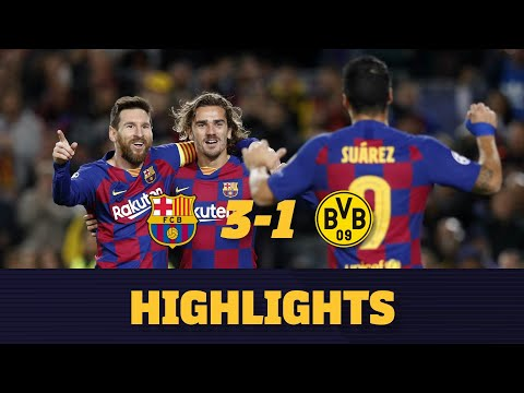 highlights-|-barça-3-1-borussia-dortmund