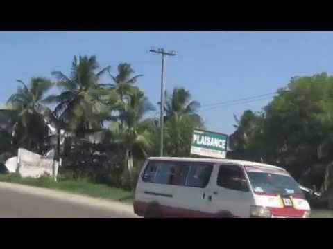 Driving up the east coast {guyana}