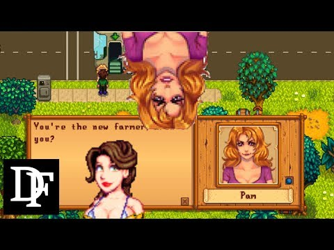 Stardew Valley - Hot Pam! Leah Gets Cleavage! And Marnie Get Dialogue..3 More Mods!