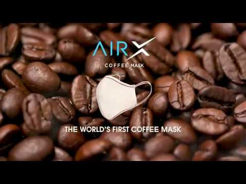 AirX - The world's first coffee mask