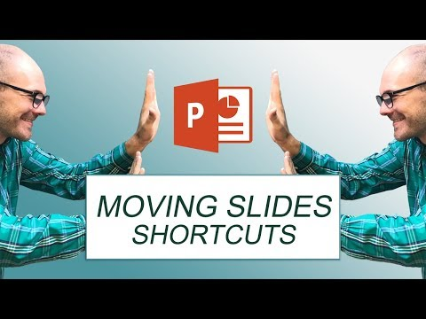 NEW Shortcut to Move Slides in PowerPoint