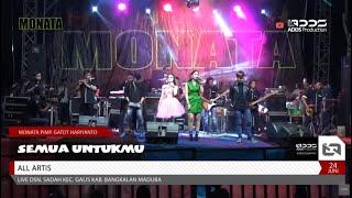 MONATA - SEMUA UNTUKMU - ALL ARTIS - LIVE BANGKALAN MADURA