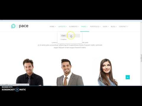 Create One Page In Joomla Template