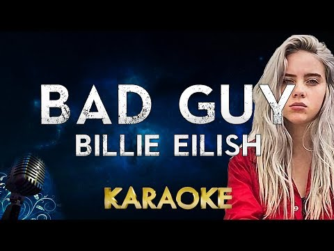 Billie Eilish - bad guy karaoke Instrumental