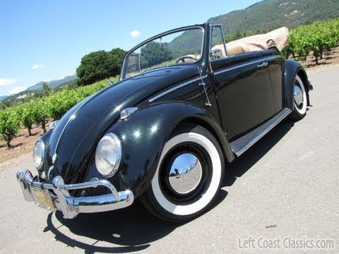 1962 vw bug convertible for sale youtube. Black Bedroom Furniture Sets. Home Design Ideas