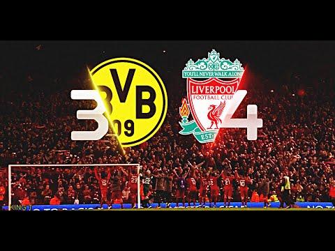 "Liverpool vs Dortmund ""The Incredible Comeback"""