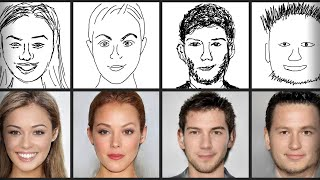 This AI Creates Human Faces From Your Sketches!