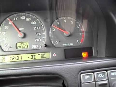 99 Volvo V70 T5 cruising. (rpm fluctuation issue)