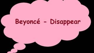Beyoncé - Disappear  Legenda Inglês/Português