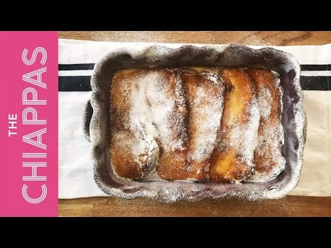 The Chiappas - Bread And Butter Panettone Pudding