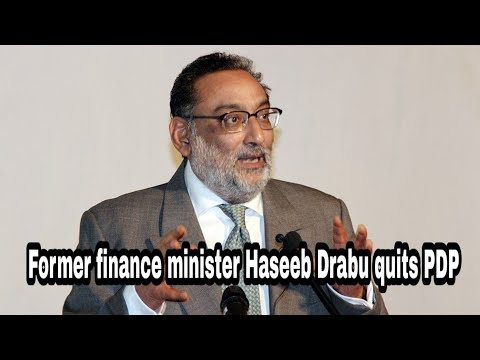 Major setback to PDP, Former finance minister Haseeb Drabu quits party | UNT