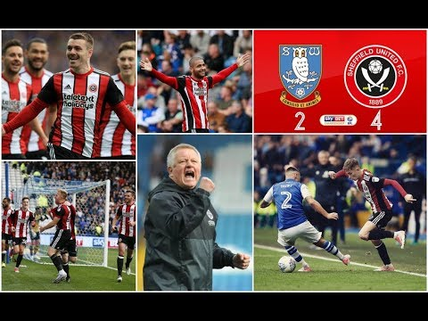 Sheffield Wednesday 2-4 Sheffield United: 24th September 2017 (The Bouncing Day Massacre)