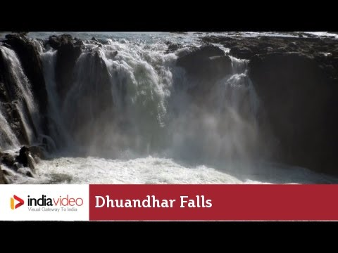 Dhuandhar Falls on the Narmada River, Bhedaghat | India Video