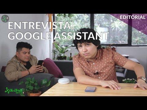 Entrevista a una Inteligencia Artificial: Google Assistant en español de México