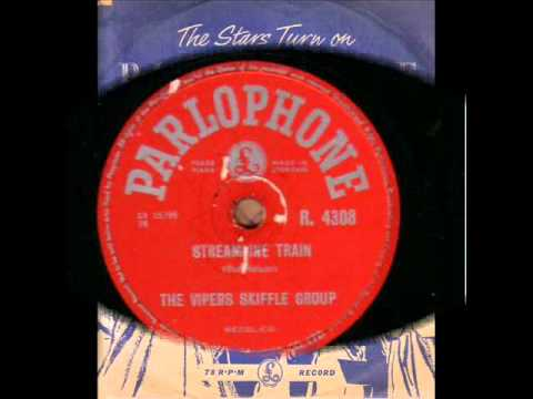 THE VIPERS SKIFFLE GROUP  STREAMLINE TRAIN  78RPM