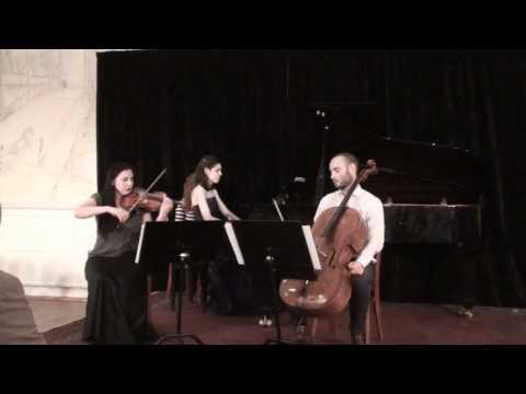 S.Rachmaninov -- Trio élégiaque  1. Moderato