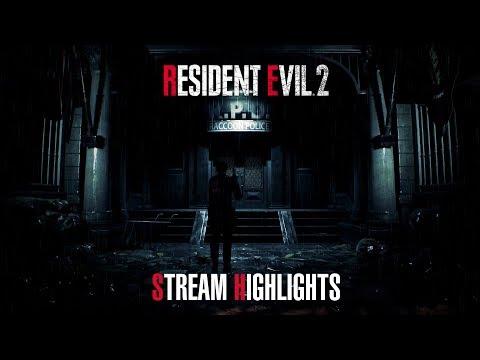 Resident Evil 2 Stream Highlights