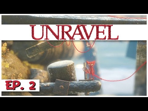 Unravel - Ep. 2 - Unravel the Sea! - Let's Play Unravel Gameplay