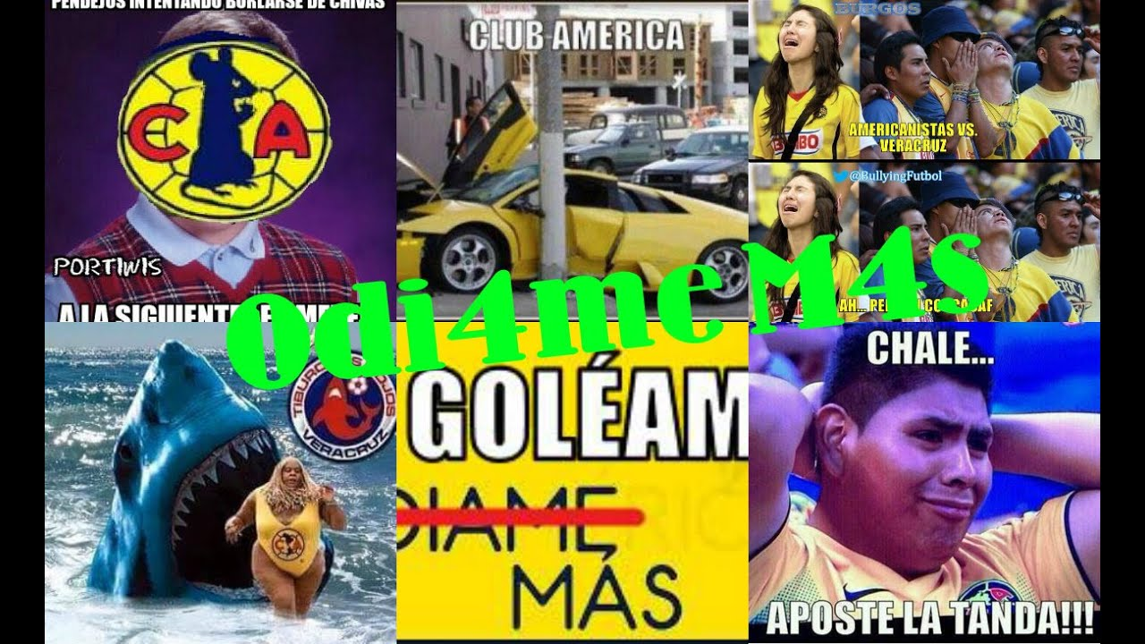 "Veracruz 4-0 América ""Mejores Memes"" - YouTube"