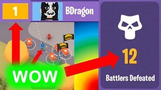 Playing BATTLELANDS with the TOP PLAYER in the world! EPIC WINS!