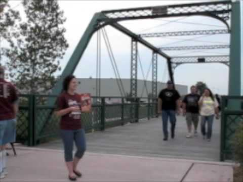 Morenci Bridge Walk 8-7-09