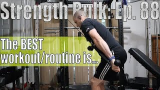 The BEST workout/routine is...   Biceps/Triceps Workout   Vlog   Strength Bulk Ep. 88