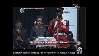 Tribute By Children Of The Late Kofi Annan - JoyNews (13-9-18)